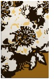 rug #689265 |  brown graphic rug