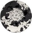 rug #689327 | round graphic rug