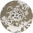 rug #689461 | round mid-brown natural rug