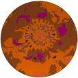 rug #689585 | round graphic rug