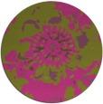rug #689649 | round pink rug