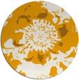 rug #689657 | round light-orange natural rug
