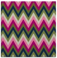 rug #690061 | square blue stripes rug