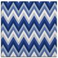 rug #690065 | square blue stripes rug