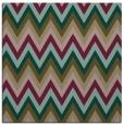 rug #690145   square brown stripes rug