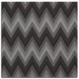 rug #690173 | square brown rug
