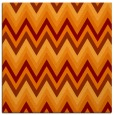 rug #690213 | square orange stripes rug