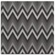 rug #690225 | square red-orange stripes rug