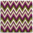 rug #690253 | square purple stripes rug