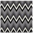 rug #690297 | square black stripes rug