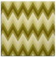 rug #690345 | square light-green rug