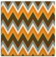 rug #690369 | square light-orange stripes rug