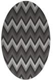 rug #690580 | oval stripes rug