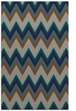 rug #690761    blue stripes rug