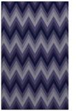 rug #690813 |  blue-violet stripes rug