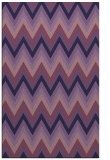 rug #690825 |  purple stripes rug