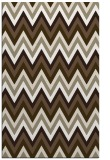 rug #690869 |  mid-brown stripes rug