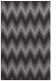 rug #690877 |  brown stripes rug