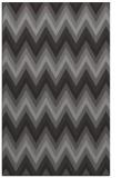 rug #690877 |  mid-brown stripes rug
