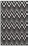 rug #690929 |  red-orange stripes rug