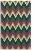 rug #690933    yellow stripes rug