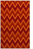 rug #690973 |  orange popular rug