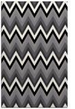 rug #691001 |  black stripes rug