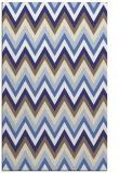 rug #691009 |  white stripes rug