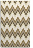 rug #691021 |  yellow stripes rug