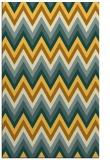 rug #691033    light-orange stripes rug