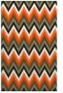 rug #691037 |  black stripes rug