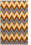 rug #691077 |  light-orange stripes rug
