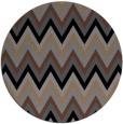 rug #691090 | round stripes rug