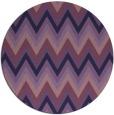 rug #691177 | round purple rug