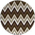 rug #691221 | round mid-brown popular rug