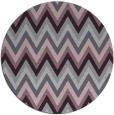 rug #691317 | round purple rug