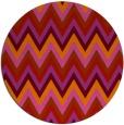 rug #691333 | round stripes rug