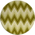 rug #691401 | round light-green rug