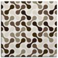 rug #691785 | square white circles rug