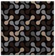 rug #691797 | square beige circles rug