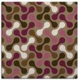 rug #691937 | square mid-brown retro rug