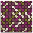 rug #692013 | square purple circles rug