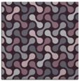 rug #692021 | square purple circles rug