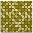 rug #692105 | square light-green circles rug