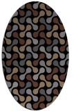 rug #692145   oval black circles rug