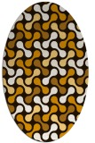 rug #692436 | oval circles rug