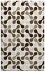 rug #692489 |  beige circles rug