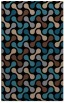 rug #692505 |  black circles rug