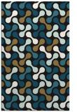 rug #692509 |  brown retro rug