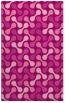 rug #692697 |  pink circles rug